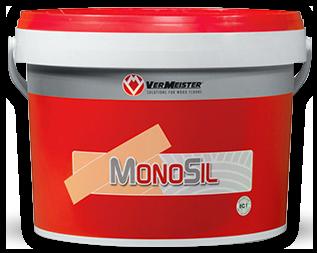 Adhesivo monocomponente higroendurecedor de terminación silánica MONOSIL, no conteniendo agua, disolventes, isocianatos, compuestos epoxídicos, amínidos y metales pesados (estaño) es un producto exento de indicaciones y simbologías de riesgo y peligro.