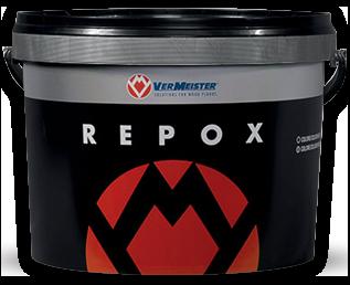 Adhesivo bicomponente epoxi-poliuretánico de nueva generación para encolar pisos de madera de cualquier formato sobre substratos de cemento, también radiantes, y no absorbentes (cerámica, gres, mármol, etc.)