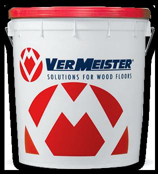 Adhesivo monocomponente en dispersión con bajísimo contenido de agua para el encolado de pisos de madera incluso de tablillas de grandes dimensiones (14/17 mm)